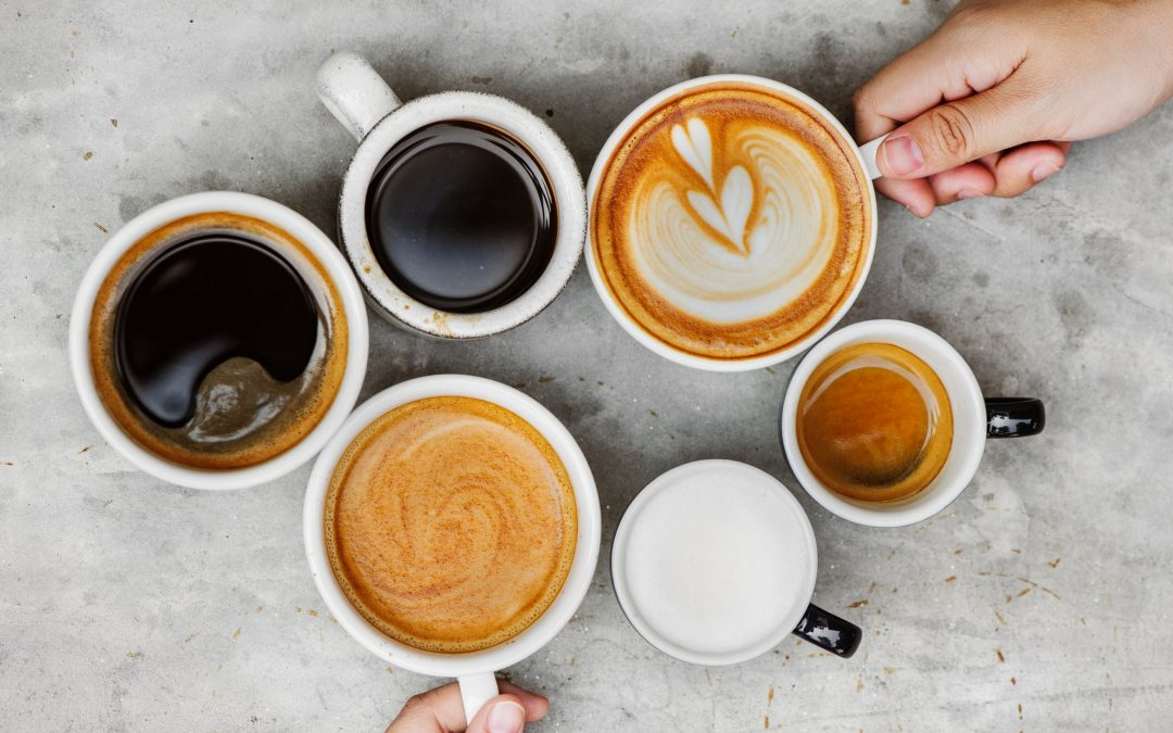 Em qual xícara tomar o seu café?